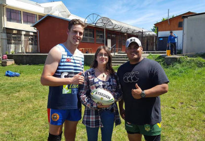 'Hollywood' helping to make rugby league hot in Chile