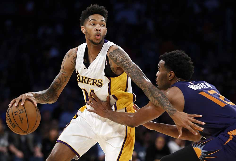 Brandon Ingram for the LA Lakers.