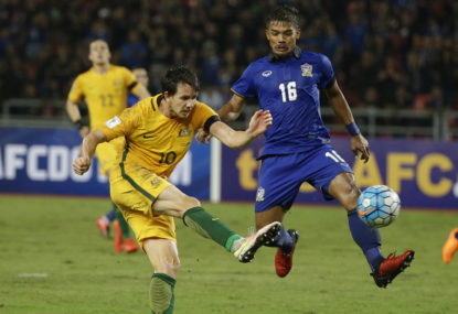 On-field worries continue for Aussies in Thailand