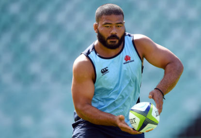 Latu call-up a thumbs up but Tahs still lack pack power