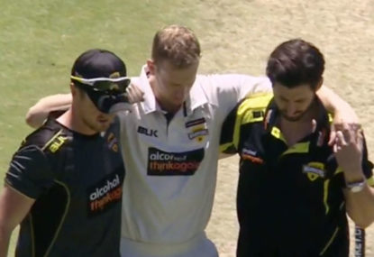 Helmets have made modern batsmen worse at playing the short ball