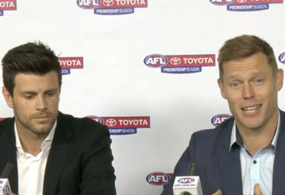 Cotchin and Mitchell never considered knocking back Brownlow