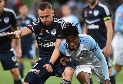 Melbourne City vs Melbourne Victory: A-League Melbourne Derby live scores, blog