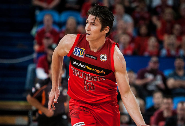 Damian Martin of the Perth Wildcats