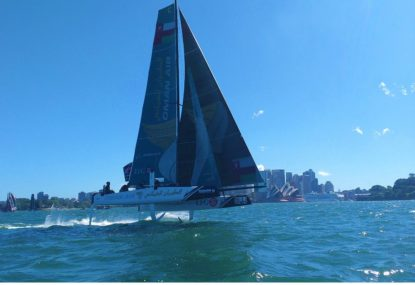 The Extreme Sailing Series lights up Sydney