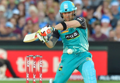 Brendon McCullum calls time on BBL career