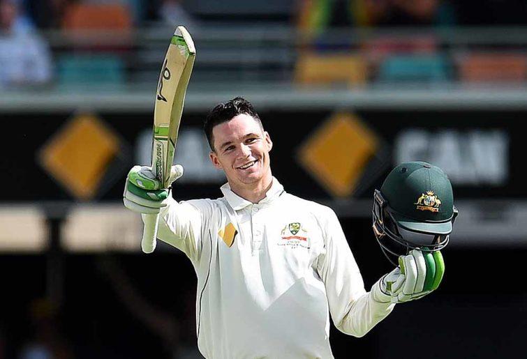 Australian batsman Peter Handscomb