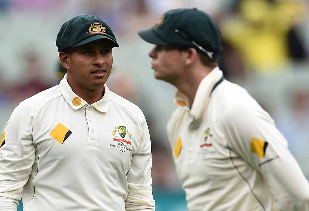 Steve Smith Usman Khawaja