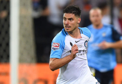 Bruno Fornaroli finished at Melbourne City