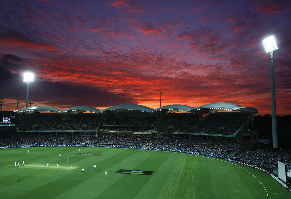Day-night test cricket adelaide oval