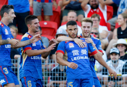 Adelaide United vs Newcastle Jets highlights: A-League live scores, blog