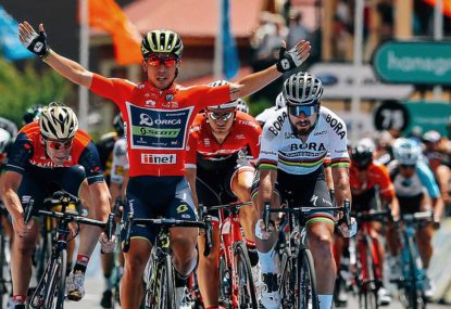 Ewan loses Tour stage win for head butting
