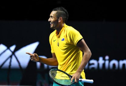 Kyrgios is the athlete Australian sport needs