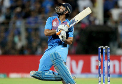 Dhoni steers India to ODI win over Aussies