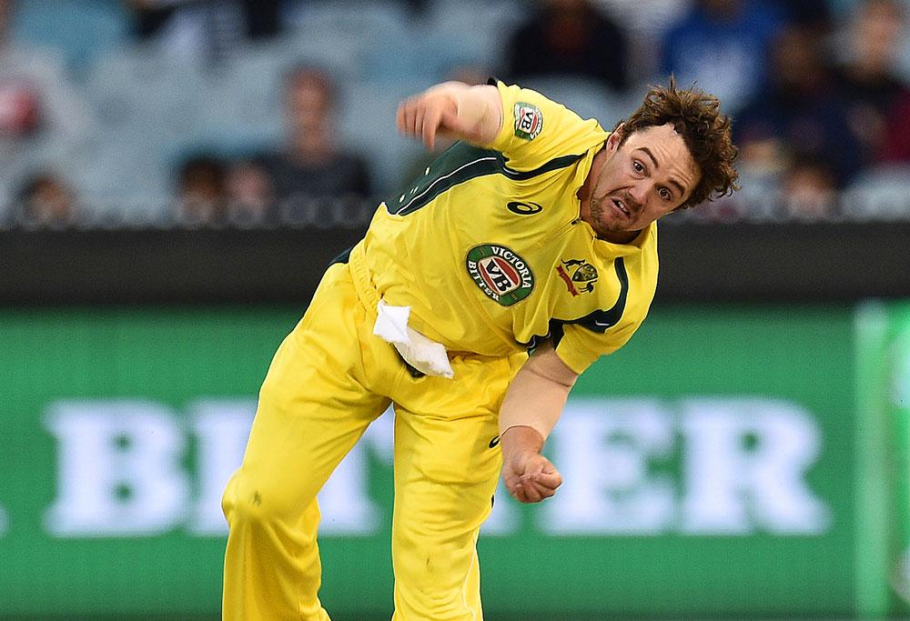 Travis Head of Australia bowls