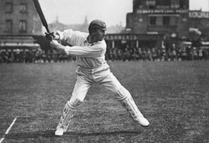 Commemorating the birth of Victor Trumper