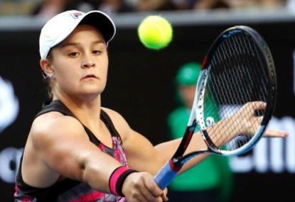Ashleigh Barty vs Lesia Tsurenko: Brisbane International tennis live scores, blog