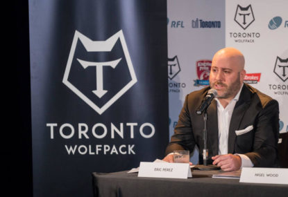 The Toronto Wolfpack: The world's first trans-Atlantic sporting team