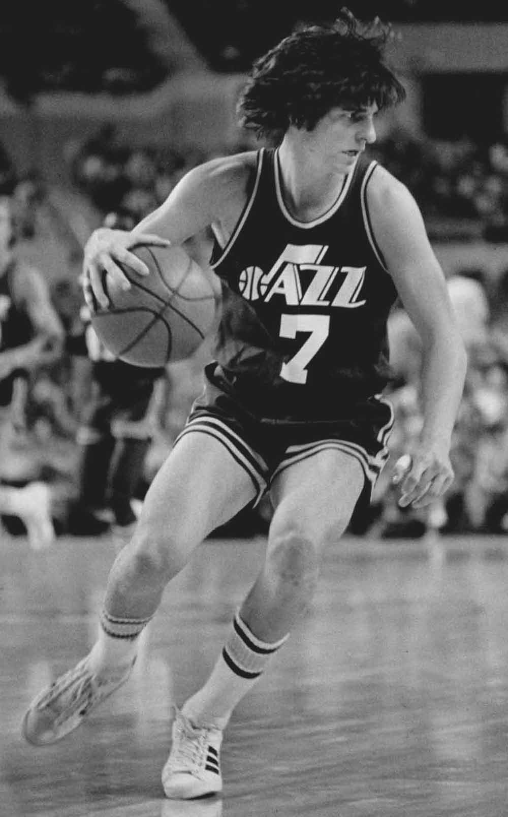 NBA basketball Pete Maravich