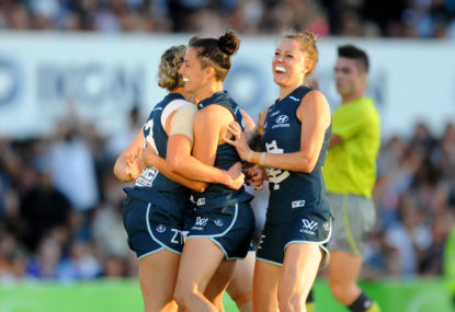 AFL Women's provides a much-needed dose of positivity for 2017
