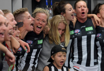 Don't like AFL Women's on the news? Change the channel