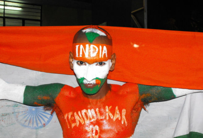 Sachin's most ardent fan.