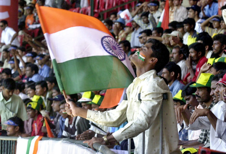 A passionate Indian cricket fan