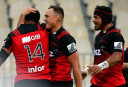 Crusaders put on wet-weather masterclass