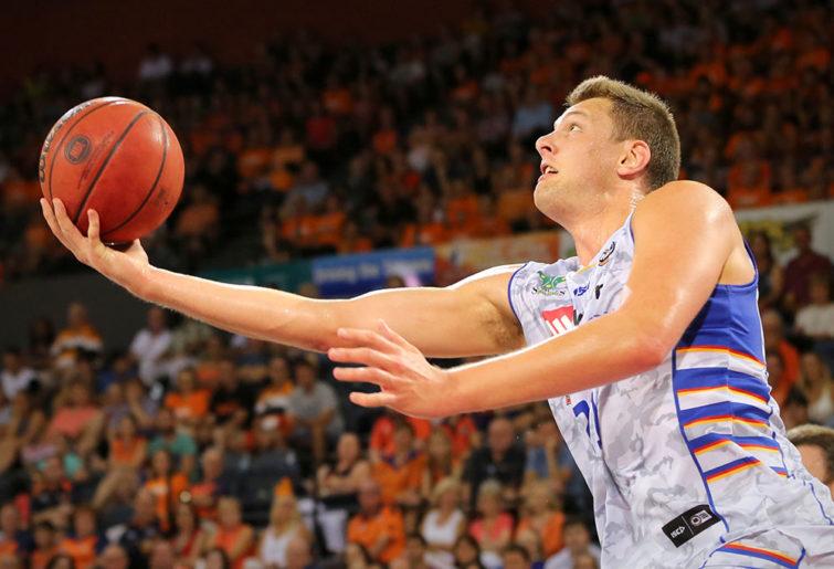 Daniel Johnson of the Adelaide 36ers
