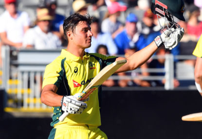 Kohli and Finch praise allrounder Stoinis