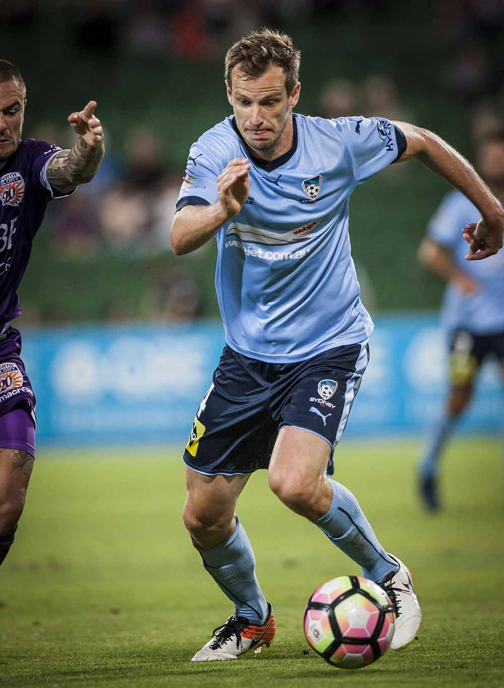 Alex Wilkinson of Sydney FC