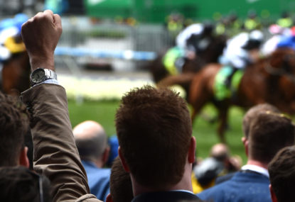 Five of the best: Punters getting messy at the races