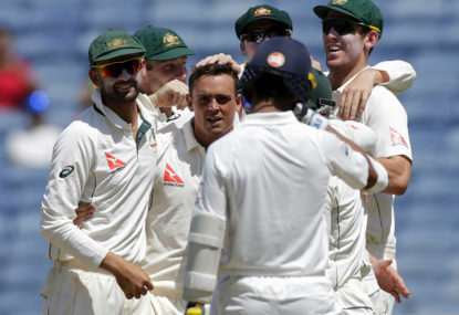 Why the lack of FTA coverage for this fantastic Test series?