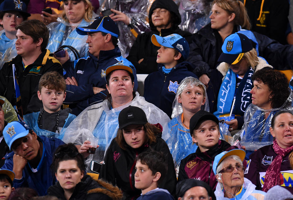Unhappy Gold Coast Titans fans