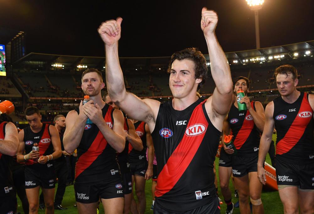 Andrew McGrath Essendon Bombers AFL 2017