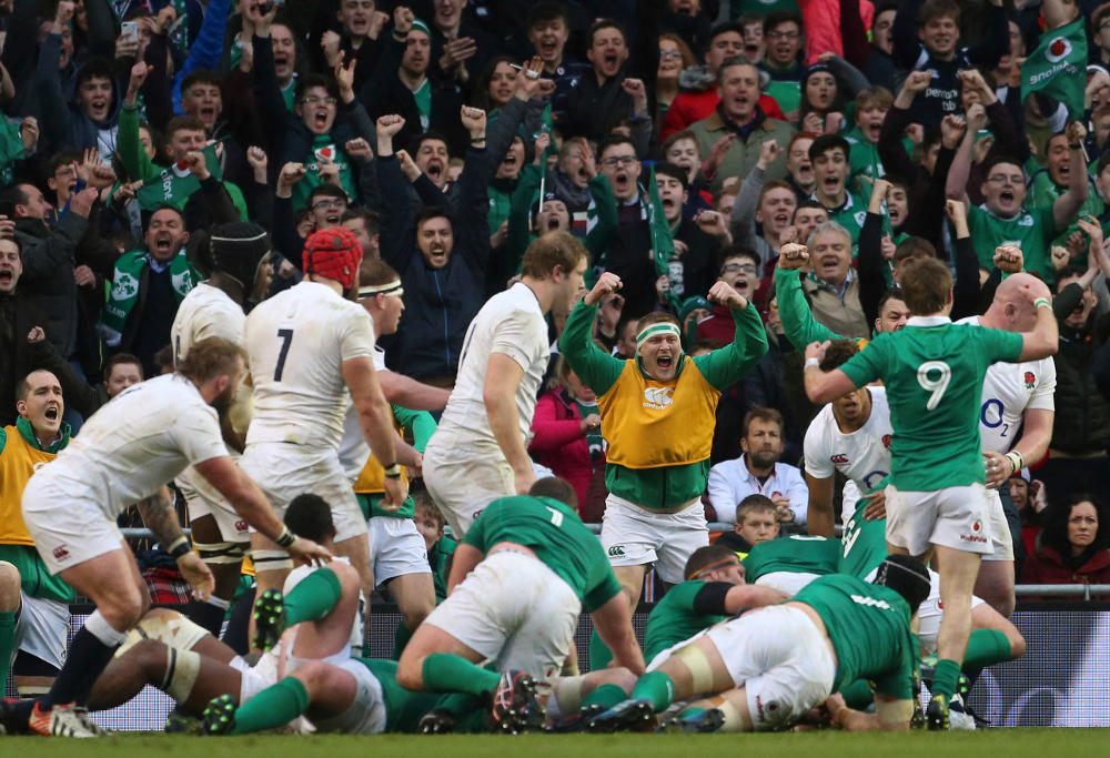 Ireland Rugby Union Six Nations 2017
