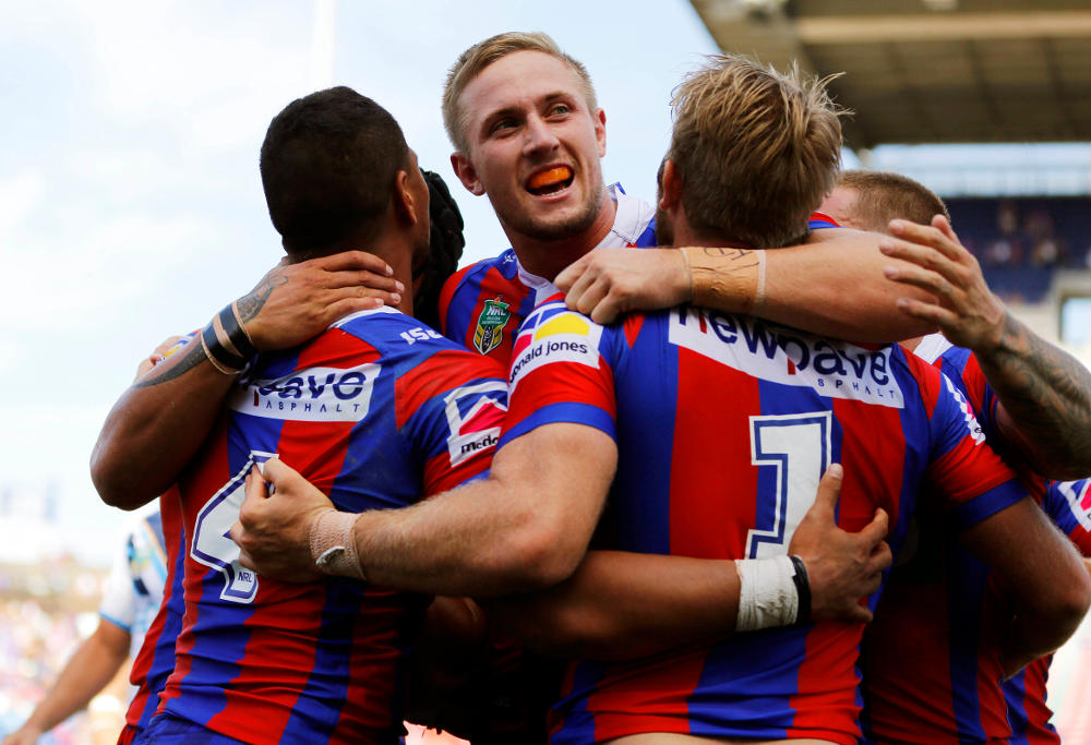 Jack Stockwell Newcastle Knights NRL Rugby League 2017
