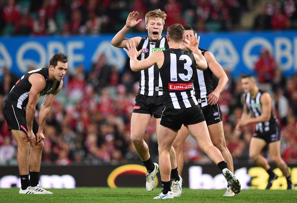 Jordan de Goey Collingwood Magpies AFL