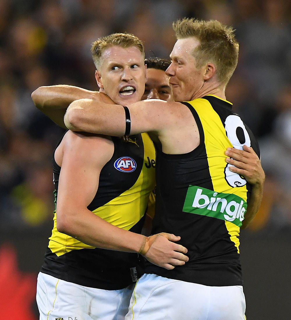 Josh Caddy Richmond Tigers 2017 AFL tall