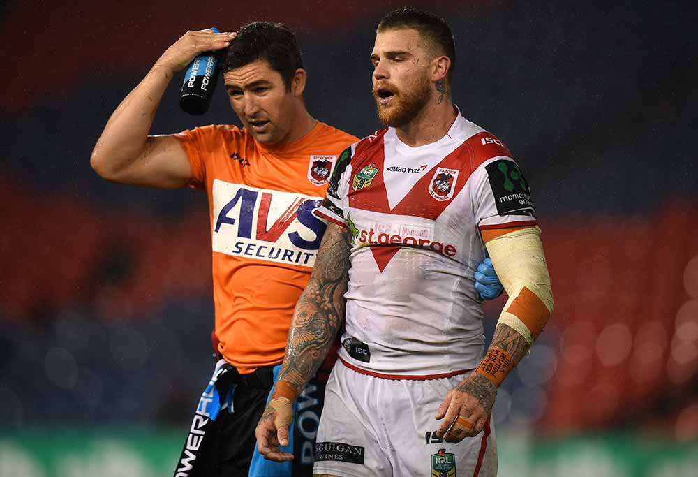Josh Dugan NRL rugby league concussion