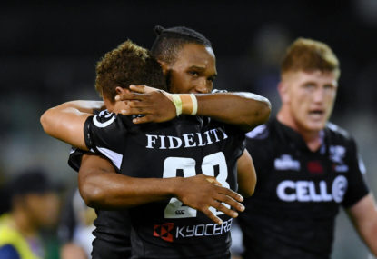 Cheetahs vs Sharks: Super Rugby live scores