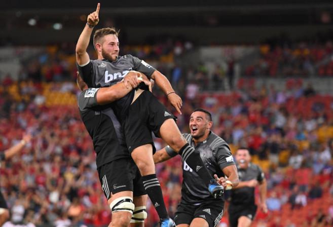 Mitch Hunt Crusaders Super Rugby Union 2017