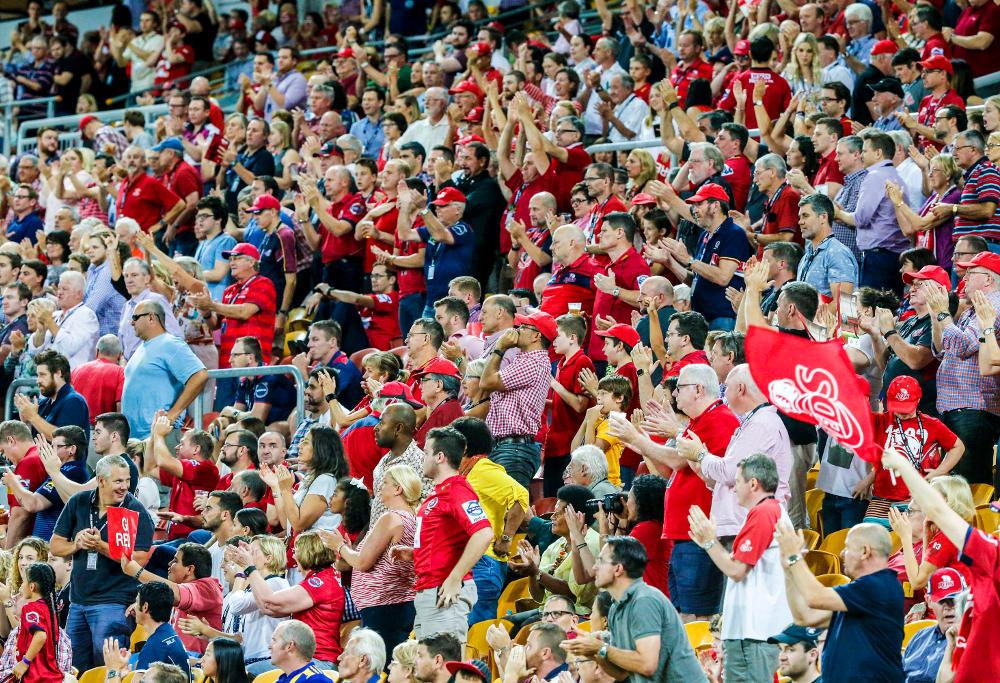 Super Rugby Fans Reds Highlanders 2016