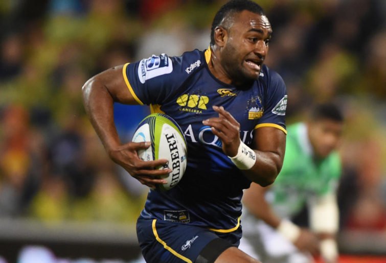 Tevita Kuridrani of the Brumbies Super Rugby
