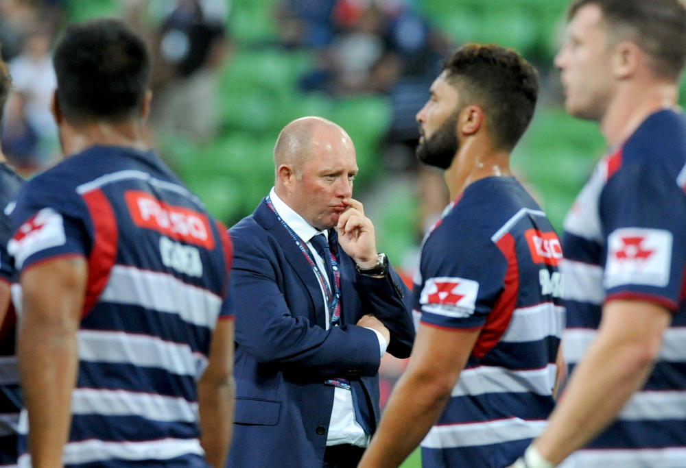 Tony McGahan Melbourne Rebels Super Rugby Union 2017