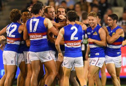 Bulldogs escape bullocking Brisbane