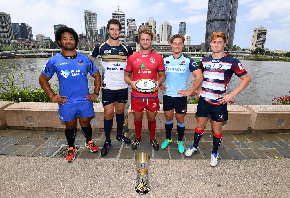 Australian Super Rugby captains