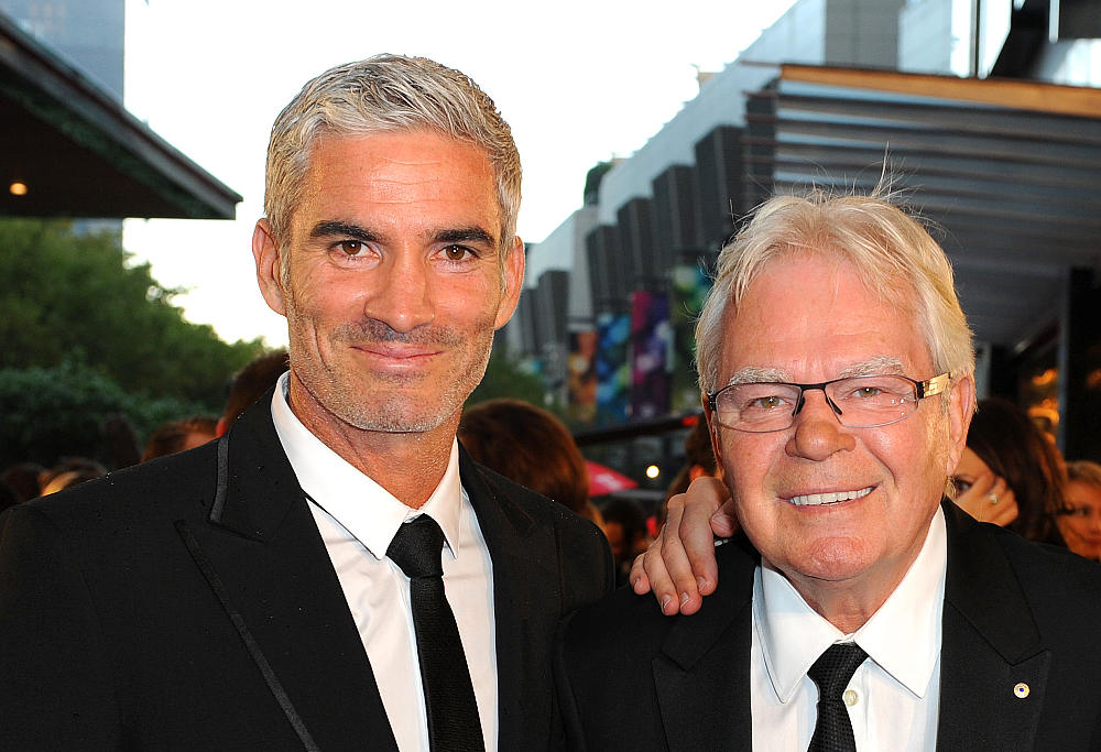Craig Foster and Les Murray