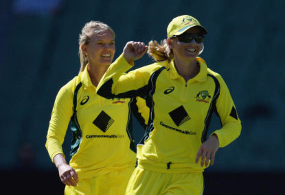 Australian women looking for series whitewash