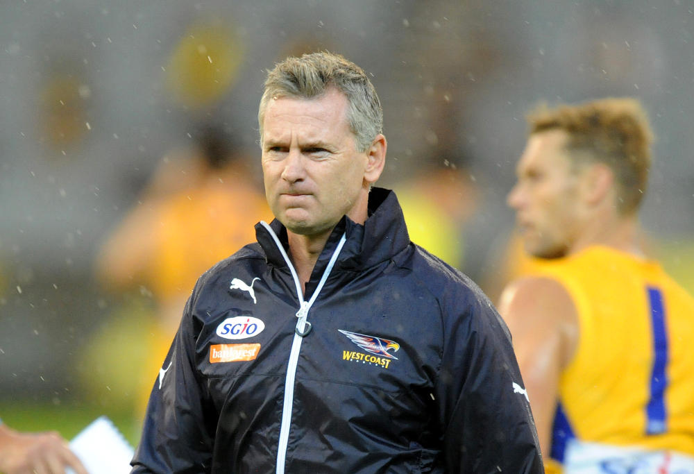 Adam Simpson West Coast Eagles AFL 2017